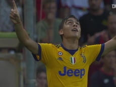 Juventus fought back from two goals down to win 2-4. DUGOUT