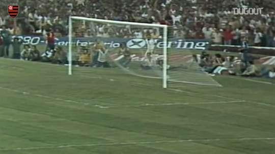 Flamengo won their first Brazilian Championship. DUGOUT