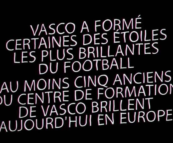 VIDÉO: Le centre de formation exceptionnel de Vasco de Gama. Dugout