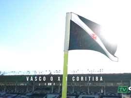 Coritiba derrotou o Vasco da Gama em confronto direto contra o rebaixamento. DUGOUT