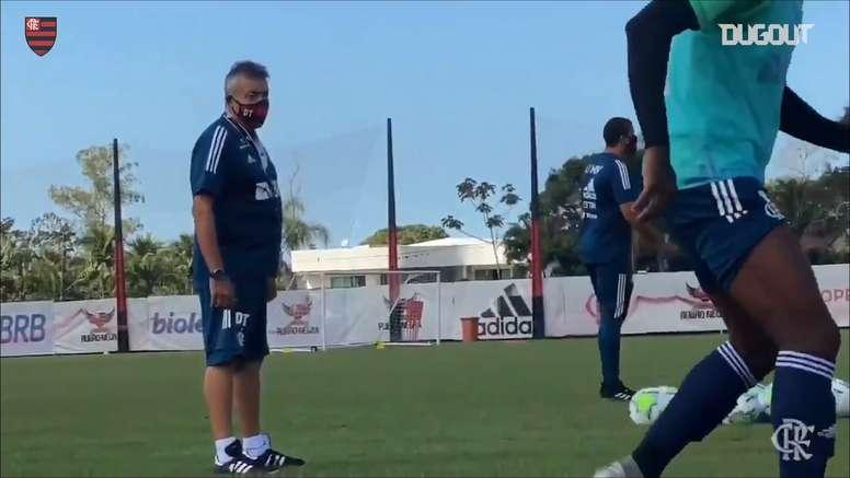 Flamengo estreia no Campeonato Brasileiro contra o Atlético-MG. DUGOUT