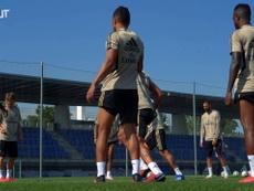 Casemiro's training highlights. DUGOUT