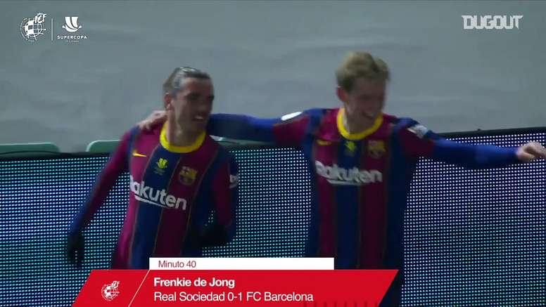 VIDÉO : Résumé Barcelone 1-1 Real Sociedad (3-2 t.a.b). DUGOUT