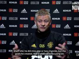Solskjaer: 'Rashford is going to score soon'. DUGOUT