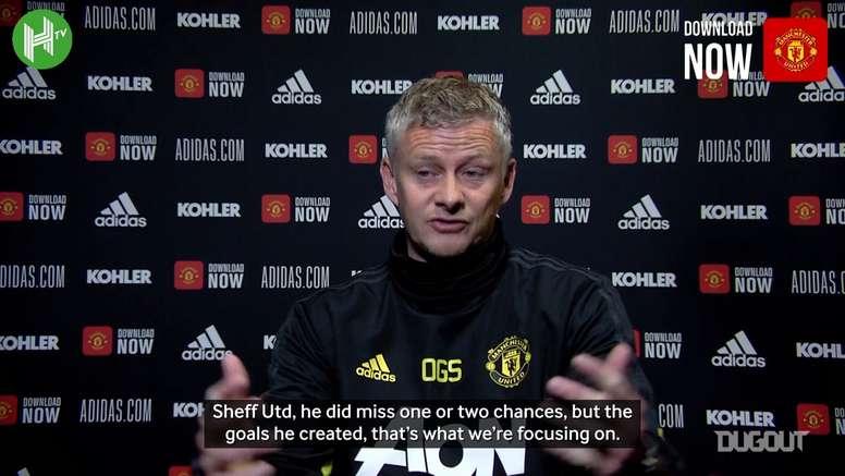 Solskjaer: 'Rashford is going to score soon'. DUGOUT