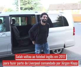 Confira a história de sucesso de Mohamed Salah. DUGOUT