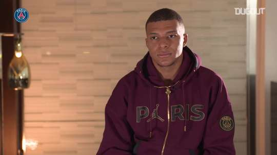 Mbappe has his say. DUGOUT