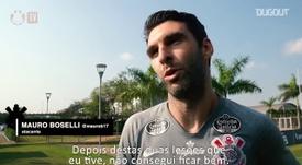 Mauro Boselli volta após se recuperar de duas lesões. DUGOUT