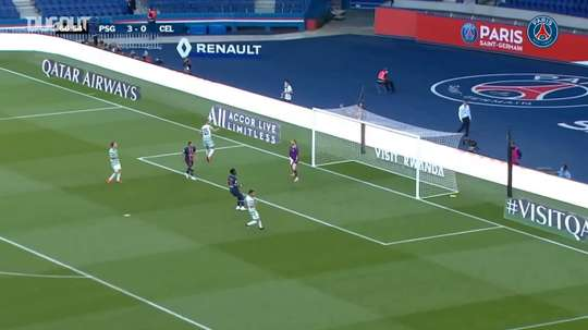 Sarabia scored for PSG in their 4-0 win against Celtic. DUGOUT