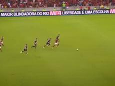 Vitinho fez bonito pelo Flamengo na final. DUGOUT