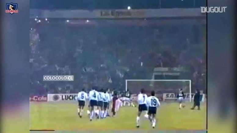 Colo Colo won their first ever Copa Libertadores. DUGOUT