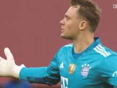 Neuer salvó al Bayern en sus cuatro finales en 2020. DUGOUT