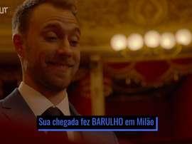 Chegada de Christian Eriksen à Inter de Milão. DUGOUT