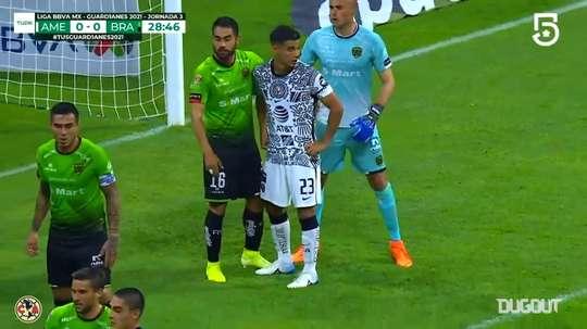 Club América's 2-0 win vs FC Juárez. DUGOUT
