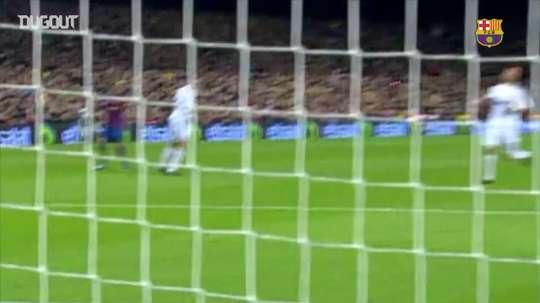 La belle volée d'Ibrahimovic contre le Real Madrid. DUGOUT