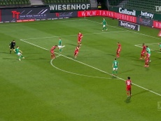 Neuer made this save for Bayern. DUGOUT