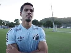 Lucas Veríssimo falou sobre o duelo entre Santos e Flamengo. DUGOUT