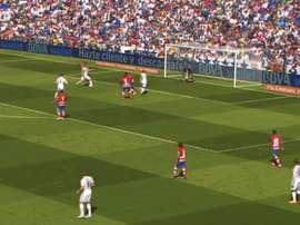 Ronaldo segnò cinque reti al Granada. Dugout