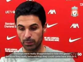 Arteta praised his side. DUGOUT