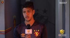 Betinho fala sobre evolução no Sport e estreia no Brasileirão. DUGOUT