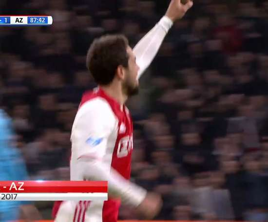 Amin Younes scored some lovely goals while playing for Ajax. DUGOUT