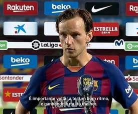 Rakitic e Setién vibram com recomeço e vitórias do Barcelona. DUGOUT