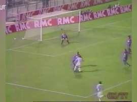 Melhores momentos de Eric Cantona pelo Olympique de Marseille. DUGOUT