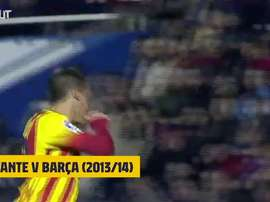 A hat-trick of assists fro Messi. DUGOUT