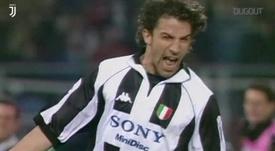 Del Piero é considerado um dos maiores ídolos da história da Juventus. DUGOUT