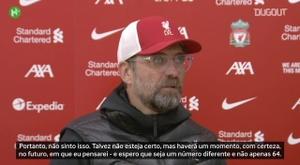 Liverpool chegou a 64 partidas de invencibilidade em Anfield. DUGOUT