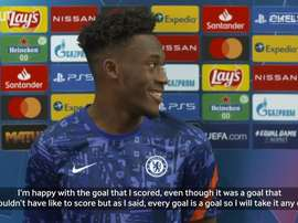 Hudson-Odoi delight at first Champions League goal. DUGOUT