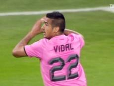 Arturo Vidal scored a lovely goal for Juventus back in 2012. DUGOUT