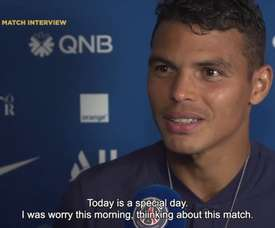Thiago Silva speaks out on his departure. DUGOUT