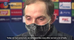 Thomas Tuchel: '  It was not the best possible PSG but it was a pragmatic PSG'. DUGOUT
