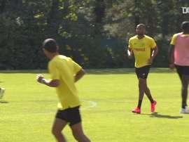 Les plus beaux buts de la dernière séance d'entraînement du FC Nantes. DUGOUT