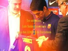 Luis Suárez atuou no Barcelona entre os anos de 2014 e 2020. DUGOUT