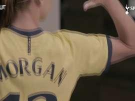VIDÉO: Alex Morgan à Tottenham. Dugout
