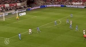 Luis Suárez's top five goals for Ajax. DUGOUT