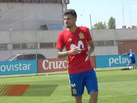 VIDEO: Dani Ceballos's free-kick exhibition in training. DUGOUT
