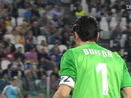 Buffon sorprendió a todos con este paradón. DUGOUT