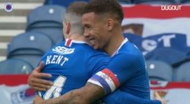 Rangers crush Aberdeen 4-0. DUGOUT