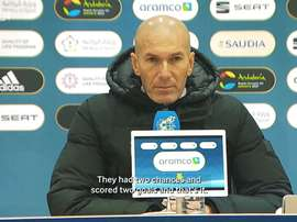Zinedine Zidane reflected on Real Madrid's loss to Athletic Bilbao in the Super Cup. DUGOUT