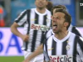 Alessandro Del Piero gave Juventus victory over Lazio back in 2012. DUGOUT