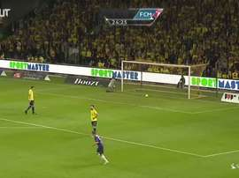 Le superbe but de Mayron George contre Brondby. Dugout