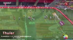 Flamengo derrotó a Junior. DUGOUT