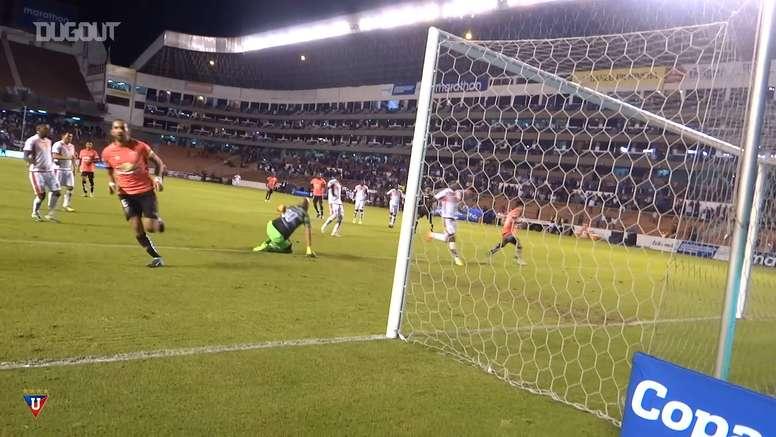 VIDEO: When Liga de Quito recreated Messi's indirect penalty. DUGOUT