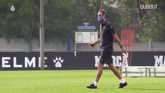 Vicente Moreno tiene la tarea de llevar a Primera al Espanyol. DUGOUT