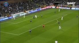 I goal di tacco del PSG. Dugout