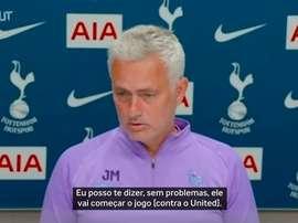 Harry Kane não atua desde 1º de janeiro contra o Southampton. DUGOUT