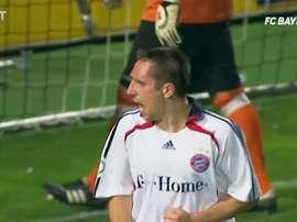 Ribéry viveu uma história que durou mais de 12 anos no Bayern de Munique. DUGOUT